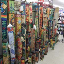 Collection of Peace Poles
