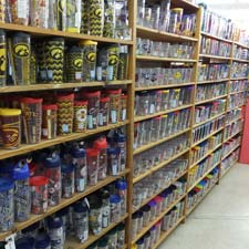 Shelves full of cups and mugs